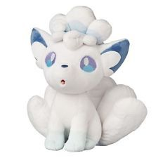 Pokemon Center Japan Original Alolan Alola Vulpix Plüsch Plush Sonne Mond SELTEN