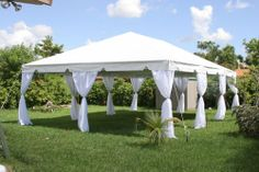 If you want to have a nice event with a lot of guests, why not rent a tent? You can use them for Birthday Parties, Engagements, Weddings, Showers, Corporate Functions, even Dinner Parties, Family Reunions and Barbeques! www.PreferredPartyPlace.com