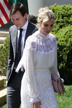 Иванка Трамп и ее муж Джаред Кушнер
