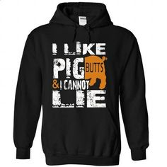 I LIKE PIG BUTTS I can not lie - #simply southern tee #cool tshirt. GET YOURS => https://www.sunfrog.com/LifeStyle/I-LIKE-PIG-BUTTS-I-can-not-lie-Black-Hoodie.html?68278