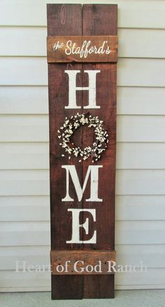 HOME Porch Sign Welcome Wreath Personalized Pip Berry 5 As for Me My House Reversible Option Two Sided Family Wood Sign Hand Painted DIY Wood Signs berry family Hand Home House Option Painted Personalized pip Porch Reversible Sided Sign Wood wreath Family Wood Signs, Diy Wood Signs, Home Wood Sign, Home Signs, Country Wood Signs, Barn Wood Signs, Homemade Wood Signs, Painted Wood Signs, Rustic Signs