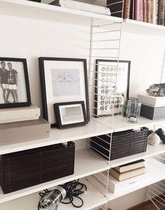 Stringhylla, Hay Magazine Rack, Van, Desk, Cabinet, Storage, Interior, Furniture, Home Decor, Home