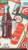 Coca Cola Light Switchplate Cover 102