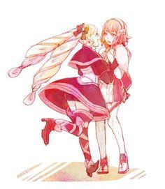 (by @9wachin on Twitter) Fire Emblem: if/Fates - Elise, Sakura