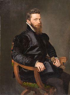 """""""Portrait of a Gentleman"""" (c.1570) by Antonis Mor"""