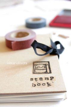 Stamp Carving tutorial- Tutorial Sellos de goma | Ishtar Olivera