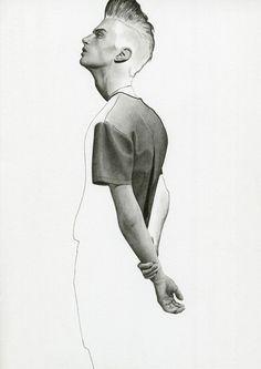 Richard Kilroy:  Matthew Bell in Matthew Miller SS13  Decoy Magazine  2013
