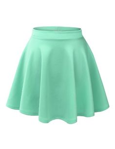 Womens Basic Versatile Stretchy Flared Skater Skirt Made By Johnny http://www.amazon.com/dp/B00KWFA1XY/ref=cm_sw_r_pi_dp_jql6ub19S5TDJ