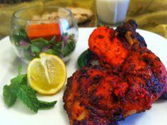 مطبخ ضياء  Diaa Cooks Arabic: دجاج تندوري مشوي بنكهة الليمون