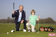 Lovely shoot of Des O'Connor and son Adam @StokePark in this week's @hellomag