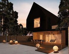 Scandinavian House, New Work, Behance, Profile, Cabin, Homes, Architecture, House Styles, Gallery