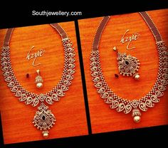 Diamond Necklace With Removable Pendant photo