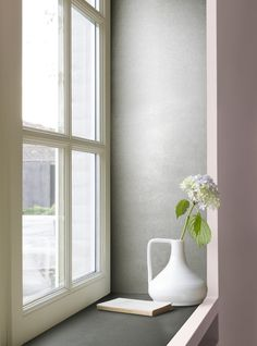 kleureenpalet slaapkamer- Inspiratie - Levis  ambiance titanium, tule en leliewit