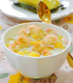 Funke Koleosho's Food Blog: Some Golden Eko for Dessert...!?