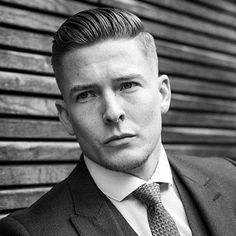 Business Hairstyles - High Fade with Thick Crew Cut
