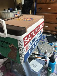 """WHAT IF WE MADE A """"SAFTB"""" BEER PONG TABLE"""