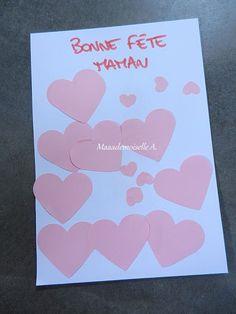 || DIY/Activité : Une carte remplie de coeurs pour la fête de mères
