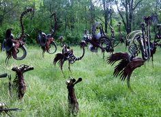 "Figure out additional info on ""metal tree art decor"". Look at our site. Metal Yard Art, Metal Tree Wall Art, Scrap Metal Art, Metal Artwork, Vinyl Shutters, Tree Artwork, Art Archive, Hanging Art, Decoration"