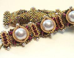Instructions for Tudor Bracelet Beading by njdesigns1 on Etsy