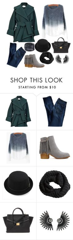 """""""Winter Fashion"""" by x3theresax3 on Polyvore featuring Carven, 7 For All Mankind, H&M, Forever 21, ABS by Allen Schwartz, women's clothing, women's fashion, women, female and woman"""