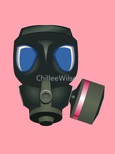 Gas Mask 2 by ChilleeWilson