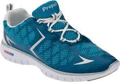 Propet Travelsport Women's Sneaker (Black/Electric Blue)