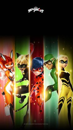 , , Miraculous: Tales Of Ladybug And Cat Noir Meraculous Ladybug, Ladybug Comics, Lady Bug, Les Miraculous, Ladybug Und Cat Noir, Marinette Et Adrien, Miraculous Ladybug Anime, Miraculous Ladybug Queen Bee, Foto Gif