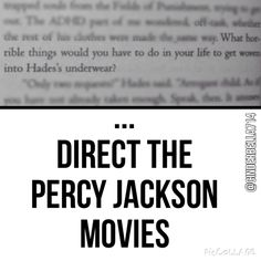 Percy Jackson ~ They deserve to be woven into Hades underwear