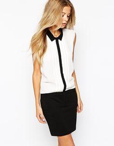 Vila Sleeveless Shirt Dress