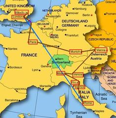 how to travel through europe on a budget