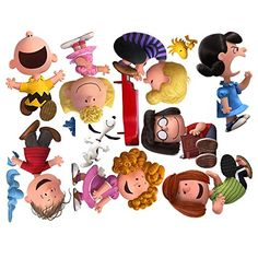 Peanuts Gang Wall Decals ** Want to know more, click on the image. (Note:Amazon affiliate link)