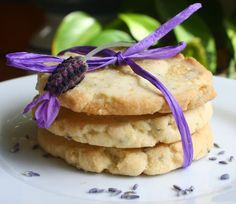 lavender crisps. use the medium cookie scoop and flatten a bit before cooking. there are *very* crispy!