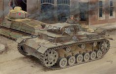 "hanspanzer: "" panzer III y somua """
