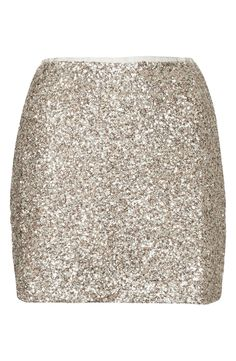 Yes, to sequins this season! Obsessed with this Topshop skirt.
