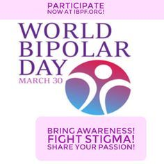 World Bipolar Day | International Bipolar Foundation