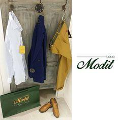MODIT uomo | BRAND in store   ▹Tonello [giacca]  ▹Massimo La Porta [camicia]  ▹PT - Pantaloni Torino [pantalone]  ▹Orciani [cintura]  Largo Baselice 5 ► Manfredonia (FG) ☏ 0884 583629