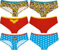 191662ef2b Wonder Woman Panty Set to match my robe!