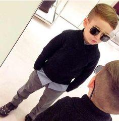 Kids fashion! What a cool dude!