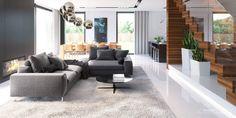 Projekt domu HomeKONCEPT-30 /lustro/ | HomeKONCEPT Modern House Design, Pergola, Exterior, Room, Furniture, Home Decor, Home Interior Design, Home Interiors, Home Plans