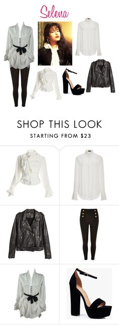 """""""Selena"""" by riki-davis on Polyvore featuring Vivienne Westwood, Joseph, H&M and Boohoo"""