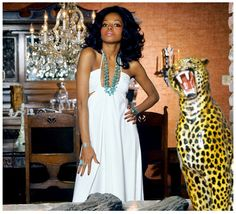 vintagegal: Diana Ross photographed by Willy Rizzo for Harper's Bazaar,1973 (x)