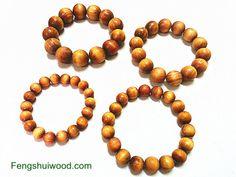 various sizes raja kayu beads bracelets