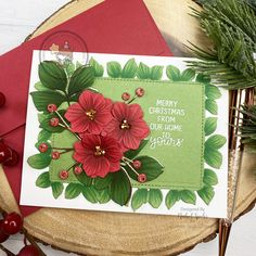Nichol shades the 8th Anniversary Mama Elephant Foliage Frame Creative Cuts Dies with Copic Markers for this eye catching Christmas Card. Stampin Up Christmas, Christmas Cards, Punch Art, Owl Punch, 8th Anniversary, Paper Smooches, Mama Elephant, Crate Paper, Cartoon Design