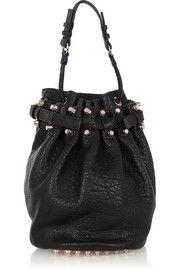 Alexander WangDiego textured-leather shoulder bag