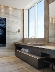 Residence on the Esplanade in Toronto by Munge Leung architects _