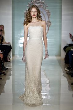Pin for Later: We Can't Imagine a Single Bride Who Wouldn't Love Reem Acra Reem Acra Bridal Spring 2015 Source: Reem Acra