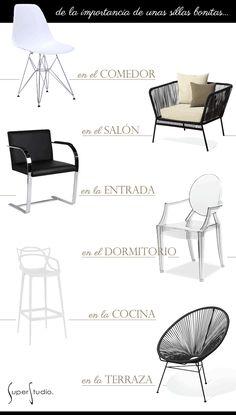 Un pisazo nórdico en blanco (y unas sillas muy bien elegidas) · A nordic style apartment (and some gorgeous chairs)