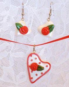 Accesorios para San Valentin con arcilla polimerica