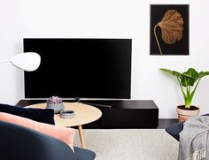 Styling by Rikke / that nordic feeling - Samsung Curved TV