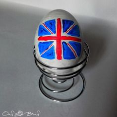 Oeuf messager drapeau uk pays angleterre